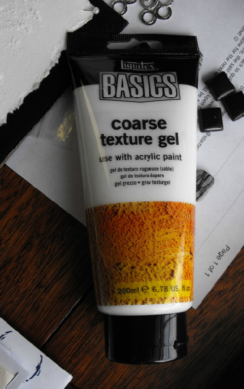 Liquitex Basics - coarse texture gel